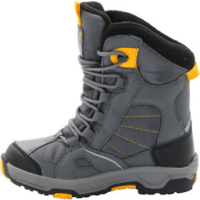 Jack Wolfskin Snow Ride Texapore Winter Boots Boys burly yellow xt